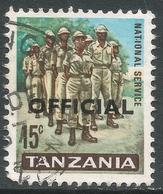 Tanzania. 1965 Official. 15c Used. SG O12 - Tanzania (1964-...)