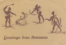 Botswana - Drawing By Moraka Phosoko 1978 Nice Stamps - Botswana