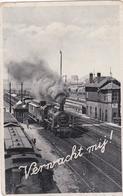 Amsterdam Verwacht Mij! Spoordijk Amsterdam Stoomtreinen # 1934   1568 - Amsterdam