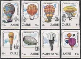 Zaire 1984 OCBn°  1245-1252  *** MNH Cote 14,00 Euro - Zaïre
