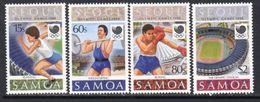 Samoa 1988 Olympic Games Set Of 4, MNH, SG 783/6 - Samoa