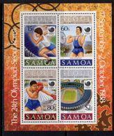 Samoa 1988 Olympic Games MS, MNH, SG 787 - Samoa
