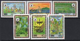 Samoa 1988-98 Conservation Campaign Set Of 6, MNH, SG 807/12 - Samoa