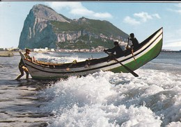 GIBRALTAR----el Penon De Gibraltar--le Rocher De Gibraltar---voir 2 Scans - Gibraltar