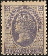 Canada, Prince Edward Island 1872, 2 P Blue, MH - Prince Edward (Island)