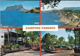 ESPAGNE---BENISA--camping FANADIX---( Peu Courante )--voir 2 Scans - Alicante