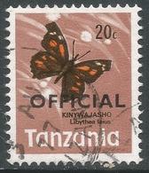 Tanzania. 1973 Official. 20c Used. SG O42 - Tanzania (1964-...)