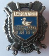 INSIGNE POMPIERS LAPOUTROIE 68 - Firemen