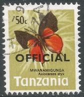 Tanzania. 1973 Official. 50c Used. SG O44 - Tanzania (1964-...)