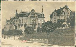 AK Gablonz Jablonec Nad Nisou, Gartenstrasse, Um 1924, Briefmarke Entfernt, Eckknick (9735) - Czech Republic