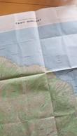 TAHITI NORD-EST ETAT MAJOR 1 40 000EME IGN BON ETAT 1958 - Cartes Topographiques