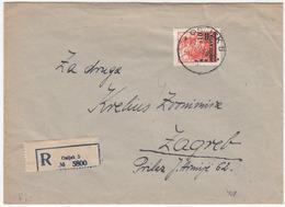 Yugoslavia, Letter Cover Registered Travelled 1950 Osijek Pmk B180320 - 1945-1992 Sozialistische Föderative Republik Jugoslawien