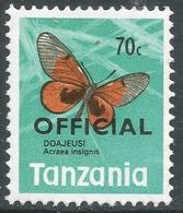 Tanzania. 1973 Official. 70c MNH. SG O45 - Tanzania (1964-...)