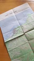 TAHITI NORD-OUEST ETAT MAJOR 1 40 000EME IGN BON ETAT 1958 - Cartes Topographiques