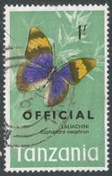 Tanzania. 1973 Official. 1/- Used. SG O46 - Tanzania (1964-...)