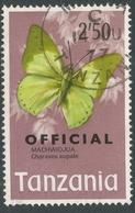 Tanzania. 1973 Official. 2/50 Used. SG O47 - Tanzania (1964-...)