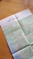 TAHITI SUD-OUEST ETAT MAJOR 1 40 000EME IGN BON ETAT 1958 - Cartes Topographiques