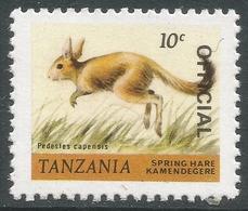 Tanzania. 1980 Wildlife. Official. 10c MNH. SG O54 - Tanzania (1964-...)