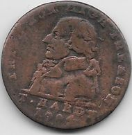 Grande Bretagne - 1794  - Cuivre - Grande-Bretagne