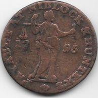 Grande Bretagne - Niblock & Hunter's - 1795  - Cuivre - Grande-Bretagne