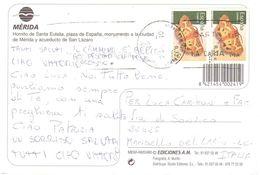 Cart X Italia Francobolli Farfalle - 1931-Oggi: 2. Rep. - ... Juan Carlos I