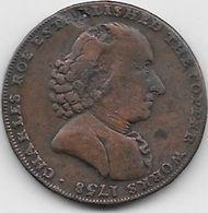 Grande Bretagne - Charles Roes Established The Copper Works - 1758  - Cuivre - Grande-Bretagne