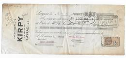 47 - LAYRAC  - Etablissement KIRPY  - Lettre De Change  - 1928 - Revenue Stamps