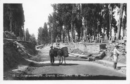 CONSTANTINOPLE.- GRANDS CIMETIERES DE SCUTARI - Turquia