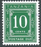 Tanzania. 1967 Postage Due. 10c MNH. P 14X13½ SG D2 - Tanzania (1964-...)