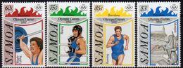 Samoa 1992 Olympic Games Set Of 4, MNH, SG 882/5 - Samoa