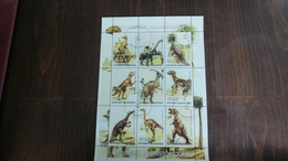Madagascar-repoblikan'i Madagasikara-DINOSAURS-(7)-(9stamps)-u.n.c - Madagascar (1960-...)