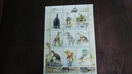 Madagascar-repoblikan'i Madagasikara-DINOSAURS-(8)-(9stamps)-u.n.c - Madagascar (1960-...)