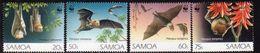 Samoa 1993 WWF Endangered Species Flying Foxes Set Of 4, MNH, SG 898/901 - Samoa