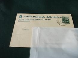 ISTITUTO NAZIONALE DELLE ASSICURAZIONI AGENZIA PRINCIPALE DI BORGO S. LORENZO PIAZZA GARIBALDI FIRENZE - Firenze