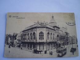 Oostende - Ostende // Theatre Royal - Tram // Used 1929 Rare - Zeldzaam - Oostende