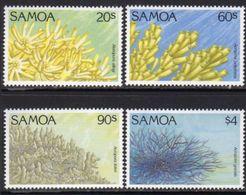 Samoa 1994 Corals Set Of 4, MNH, SG 912/5 - Samoa