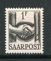SARRE- Y&T N°233- Neuf Avec Charnière * - 1947-56 Occupation Alliée