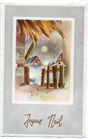 Joyeux Noel --carte Mignonnette --Paysage De Neige - Natale