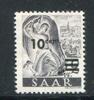 SARRE- Y&T N°216- Neuf Avec Charnière * - 1947-56 Occupation Alliée