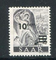 SARRE- Y&T N°216- Neuf Avec Charnière * - Ungebraucht