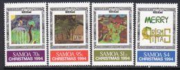 Samoa 1994 Christmas Set Of 4, MNH, SG 933/6 - Samoa