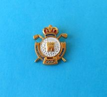 GOLF FEDERATION OF MADRID ( SPAIN ) - Nice Sport Pin Badge * Anstecknadel Distintivo Sports Abzeichen Spilla Espana - Golf