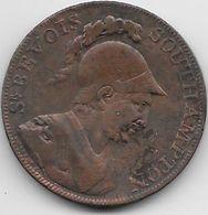 Grande Bretagne - Sir Bevois - Half Penny - 1791 - Cuivre - Grande-Bretagne