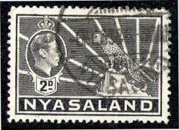 NYASALAND 1938 - From Set Used - Nyasaland (1907-1953)