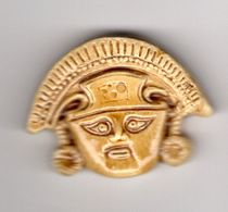 DESTOCKAGE  Fève - MH -  MASQUE Inca Maya - Countries