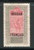 SOUDAN- Y&T N°30- Neuf Sans Gomme - Neufs