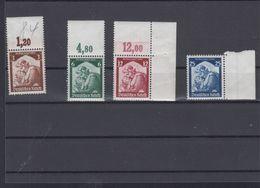 Dt. Reich Lot Rand/Eckrand Postfrisch - Germania