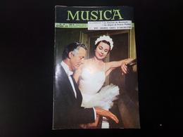 """Revue """" Musica """" 46 Pages, N°18 Septembre 1955, Le Festival De Besançon, Nos Grands Chefs D'orchestre ... - Muziek"""