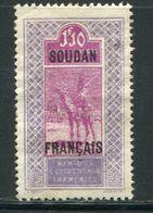 SOUDAN- Y&T N°57- Neuf Sans Gomme - Sudan (1894-1902)