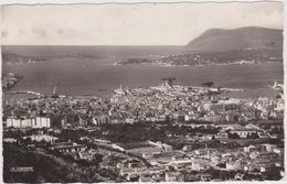 TOULON ,var,vue Panoramique Rare,édition La Cigogne,vue Sur La Mer ,rare - Toulon